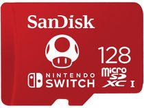 SanDisk 128GB MicroSDXC card for Nintendo Switch SDSQXAO-128G-CWCZN