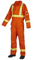 Forcefield Men's Flame-Resistant Coverall X-Large