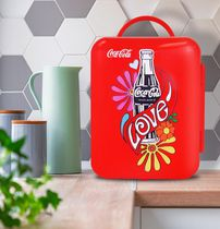 Coca-Cola® Love 1971 Series Mini Fridge 6 Can Cooler/Warmer