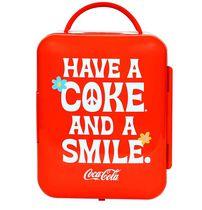 Coca-Cola® Smile 1971 Series Mini Fridge 6 Can Cooler/Warmer