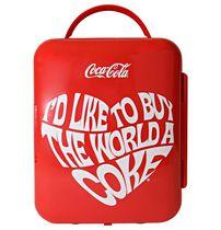 Coca-Cola® World 1971 Series Mini Fridge 6 Can Cooler/Warmer