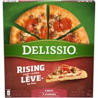 Delissio Rising Crust 3 Meat Pizza