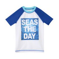 George Boys' Rash Guard Swim Top XS