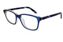 Oscar OSL449 Women's Blue Crystal Eyeglasses