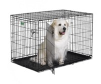 "Midwest Homes 48"" iCrate Dog 2 Door Cage"