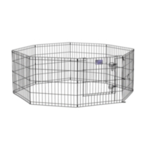 "24"" Exercise Pen with step through door"