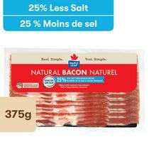 Maple Leaf Natural Less Salt Bacon