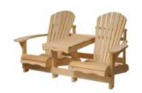 Banc Cape Cod de Country Comfort Chairs