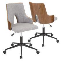 Stella Mid-Century Modern Office Chair by LumiSource