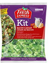 Fresh Express Kit Bacon Caesar Salad with Real Bacon