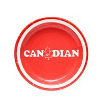 "Horizon Group USA ""CanEh!dian"" Paper Plates"