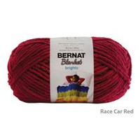 Bernat Blanket Brights Yarn Racecar Red