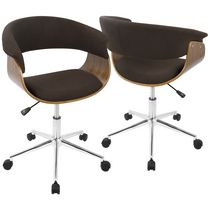 Vintage Mod Mid-Century Modern Office Chair by LumiSource