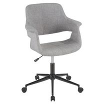 Vintage Flair Mid-Century Modern Office Chair by LumiSource