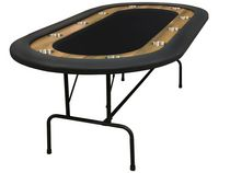 SUPREME POKER TABLE 84'' with folding legs