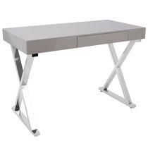 Luster Contemporary Office Desk By LumiSource
