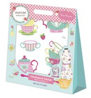 Handstand Kitchen Child and Doll Apron Set