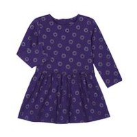 George Toddler Girls' Embellished Dress Purple 4T