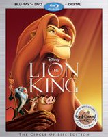 The Lion King (Blu-ray + DVD + Digital HD)