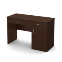 South Shore Smart Basics Small Desk Chocolate
