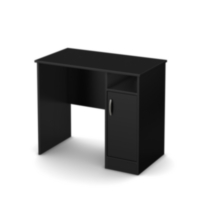 South Shore Smart Basics Small Desk Black
