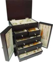 Java wardrobe style jewellery box