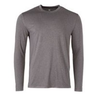 Athletic Works Men's Performance Crewneck Tee Grey M