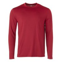 Athletic Works Men's Performance Crewneck Tee Red 2XL