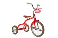 "Italtrike 16"" Spoke Tricycle Red"