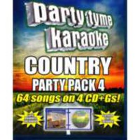 Sybersound - Party Tyme Karaoke: Country Party Pack, Vol. 4 (4CD)