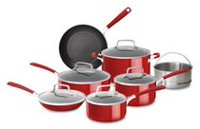 KitchenAid® Aluminum Nonstick Set - 12 Piece
