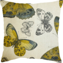 Madame Butterfly Decorative Cushion