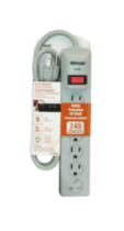 Electronics 6-Outlet Surge Protector 245J