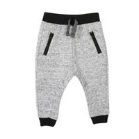 George baby Boys' French Terry Joggers Grey Light 12-18 months
