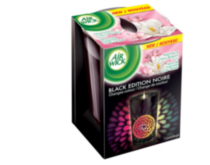 Air Wick Colour Changing Candle Black Edition Magnolia and Cherry Blossom