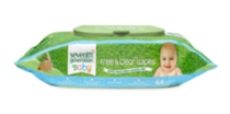 Seventh Generation Free & Clear Baby Wipes, 64 ct.