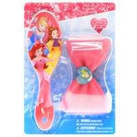 Disney Princess Brush and Mega Bow Hair Set