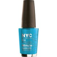 NYC New York Color In A New York Minute Nail Color Water Street Blue