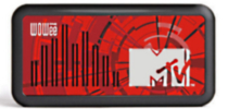 Wowee One MTV Classic One MTV Speaker - Red