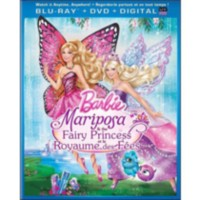 Barbie Mariposa & The Fairy Princess (Blu-ray + DVD + Digital Copy + UltraViolet) (Bilingual)