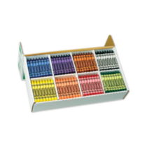 400 Large Crayons Classpack (8 colours)