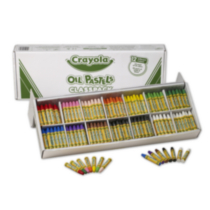 Crayola 336 Oil Pastels Classpack (12 colours)