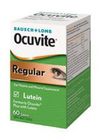 Bausch & Lomb Ocuvite Regular Eye Vitamin and Mineral Supplement, 60 Tablets