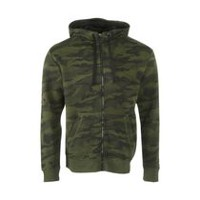 Athletic Works Men's Zipped Hoody Rifle Green XL