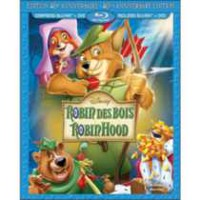Robin Hood: 40th Anniversary Edition (Blu-ray + DVD) (Bilingual)