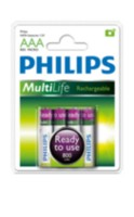 Philips Multilife Piles rechargables