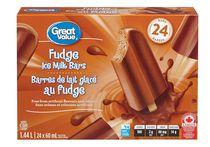 Great Value Fudge Ice Milk Bars