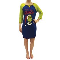 Dr. Seuss Ladies license 3/4 Sleeve Nightshirt L
