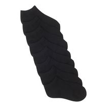 Athletic Works Girls' Low Cut Socks Black
