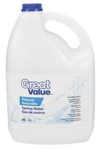 Great Value 4L Natural Spring Water